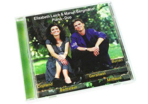 Elizabeth Laich & Marcel Bergmann – Piano – Duo